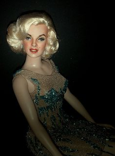 OOAK Marilyn Monre doll - Somethings Got To Give