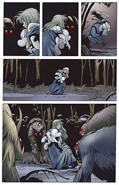 Page 102 of Bone Out from Boneville graphic novel by Jeff Smith Bone Jeff Smith, Bone Comic, Bone Books, Comic Layout, Daffy Duck, Insta Art, Storytelling, Comic Art, Bones