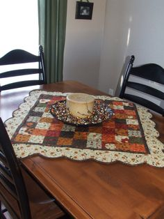 Gobble Gobble Table Topper and Table Runner « Moda Bake Shop