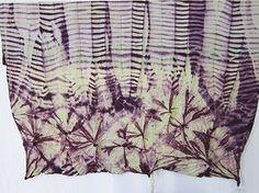 Shibori by Brazilian designer and architect Tati Polo. via superziper Japanese Textiles, Japanese Art, Traditional Japanese, Shibori, Textile Dyeing, Fabric Painting, Surface Design, Fabric Crafts, Printing On Fabric