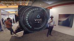 HTC Vive in Las Vegas Jan 2016 HD