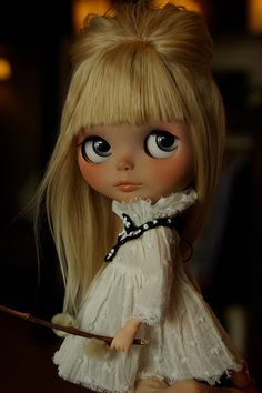 Hi Flickr friends! (she is such a beauty) #blythe
