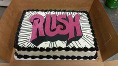 #rushalbumcover birthday cake