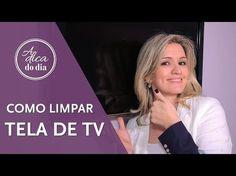 COMO LIMPAR TELA DE TV | #aDicadoDia Flávia Ferrari