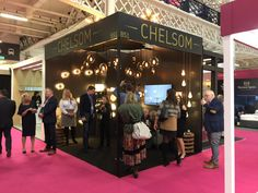 Chelsom stand at Sleep & Eat exhibition November great debut for the revamped Sleep event Office Parties, Lighting Solutions, Lighting Design, November, Sleep, Eat, Light Design, November Born