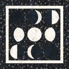 Phases of the Moon Quilt Pattern