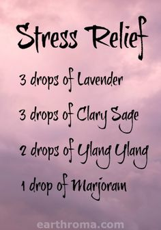 3 drops of Lavender essential oil… - - Essential Oil Stress Relief diffuser blend. 3 drops of Lavender essential oil… Essential Oil Stress Relief diffuser blend. 3 drops of Lavender essential oil… Marjoram Essential Oil, Clary Sage Essential Oil, Essential Oil Diffuser Blends, Doterra Essential Oils, Doterra Diffuser, Yl Oils, Aroma Diffuser, Stress Relief Essential Oils, Salud Natural