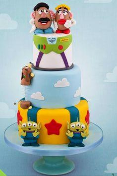 Toy Story Pixar Cake