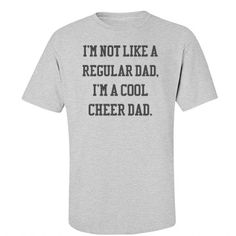 6e136ef2 29 Best Cheer DAD images | Cheer dad shirts, Dad to be shirts ...