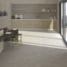 Enjoy our porcelain and ceramic tiles floors and walls in settings of bathrooms, kitchens , livingrooms and exteriors Ceramic Floor Tiles, Tile Floor, Style Tile, Interior Design, Interior Ideas, Relax, Minimalist, Kitchen Contemporary, Flooring