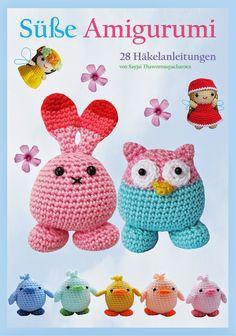"Read ""Easy Amigurumi 28 crochet doll patterns"" by Sayjai Thawornsupacharoen available from Rakuten Kobo. Easy Amigurumi is a collection of 20 cute small doll patterns and 8 animal pillow patterns. Crochet Animal Amigurumi, Amigurumi Patterns, Crochet Animals, Doll Patterns, Pillow Patterns, Crochet Doll Dress, Crochet Doll Pattern, Easy Crochet Patterns, Crochet Stitches Uk"