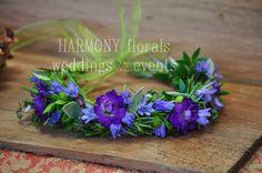 #flowergirl #flowercrown #herbs Ring Bearer, Flower Girls, Flower Crown, Herbs, Wreaths, Simple, Floral, Party, Flowers