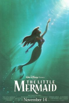 "Photo of Walt Disney Posters - The Little Mermaid for fans of Walt Disney Characters. Walt Disney Poster of Princess Ariel from ""The Little Mermaid"" Walt Disney Pictures, 80s Movies, Great Movies, Watch Movies, Childhood Movies, Awesome Movies, Cartoon Movies, Awesome Stuff, Disney Films"