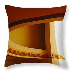 "East Portico Ellipse Throw Pillow 14"" x 14"""