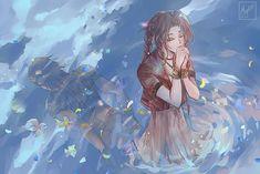 Artwork Final Fantasy, Final Fantasy Vii Remake, Fantasy Series, Cg Artwork, Original Artwork, Otaku, Astro Boy, Cloud Strife, Anime Characters