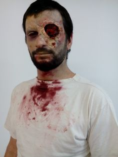 Zombie boy for Zombie Thriller Party Athens