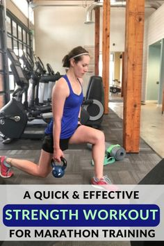 Quick and Effective Strength Workout for Marathon Training 🏃🏻♀️ . - Quick and Effective Strength Workout for Marathon Training 🏃🏻♀️ 🏃🏻♂️ Dai - Home Strength Training, Benefits Of Strength Training, Strength Training For Beginners, Strength Training For Runners, Strength Workout, Hiit, Cardio, Race Training, Cross Training