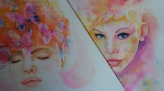 Watercolor, Painting, Art, Pen And Wash, Art Background, Watercolor Painting, Watercolour, Painting Art, Kunst