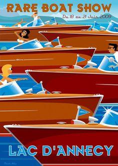 CHARLIE ADAM - Rare Boat Show 2009