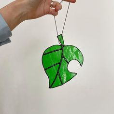 Are people still playing animal crossing? I play it every so often but I find it hard to get stuck into because the updates are so… Animal Crossing Leaf, My Christmas Wish List, Glass Cutter, Leaf Logo, Hard To Get, Sun Catcher, Stained Glass Art, Sharpie, Leaves