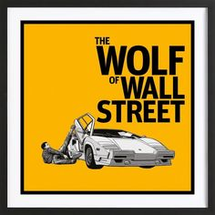 The Wolf Of Wall Street Art Prints Onlinemartin Scorsesealternative