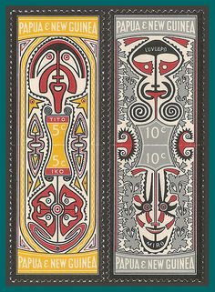 Papua New Guinea Stamps 1969 Folklore, MNH/LH