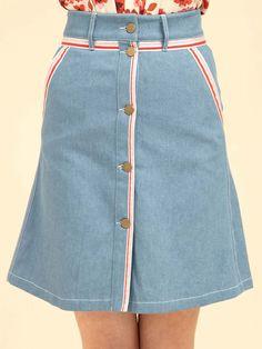 Rainbow Ribbon Skirt – Sister Jane Waist Skirt, High Waisted Skirt, Rainbow Ribbon, Ribbon Skirts, Head To Toe, 70s Fashion, Style, Swag, High Waist Skirt