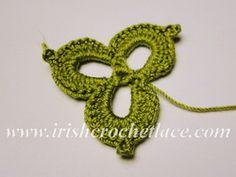 ирландское кружево, трилистник
