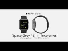 awesome Apple Watch Kutu Açılımı 42mm Space Grey