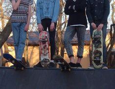 actually, none of us can skateboard