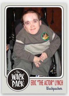 "2015 Eric The Actor Eric Lynch ""midget""  Howard Stern Show Wackpack custom card! | Sports Mem, Cards & Fan Shop, Sports Trading Cards, Other Sports Trading Cards | eBay!"