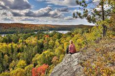 Mùa thu Dorset Lookout - Ontario - Canada