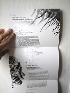 awesome angular type brochure design.