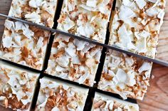 Coconut Fudge--goodness,  I think this woman has got my number!!