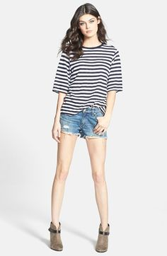 rag & bone/JEAN Tee & Shorts  available at #Nordstrom