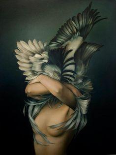 Amy Judd's Paintings | Trendland: Design Blog & Trend Magazine,re-pinned by www.jane-davis.co.uk