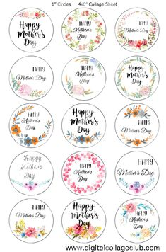 Happy Mothers Day Images, Mothers Day Quotes, Mothers Day Crafts, Bottle Cap Images, Bottle Caps, Mother's Day Printables, Free Printable, Mather Day, Eid Stickers