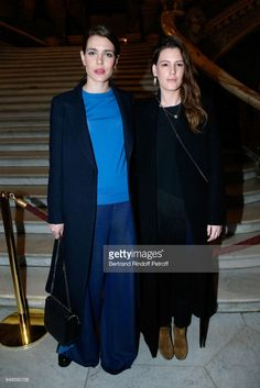 News Photo : Charlotte Casiraghi and Juliette Maillot attend...