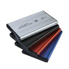 New Fashion High Speed SATA 2.5 inch USB 2.0 External HDD Hard Disk Drive HD Enclosure/Case Box SATA Hard Drive Enclosure #Affiliate