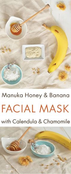 Natural & DIY Skin Care : Our latest blog post shares a recipe for a soothing moisturizing facial mask ma
