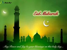 AnAr wishes you and your loved ones a very blessed #Eid!