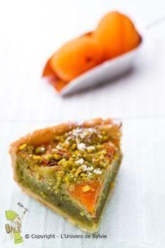 tarte amandine pistache-abricot Pureed Food Recipes, Dessert Recipes, Cooking Recipes, Arabic Sweets, Arabic Food, Sweet Pie, Sweet Tarts, Superfood, Dessert Aux Fruits