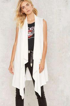 Take Care Drape Vest | Shop Clothes at Nasty Gal!
