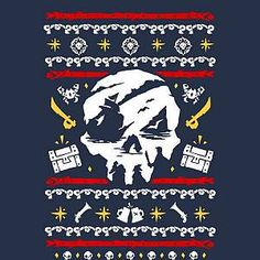 Rare Sea of Thieves Christmas Sweatshirt - Navy - XXL - Navy Sea Of Thieves, Seafarer, Set Sail, Adventure Game, New Experience, Pop Culture, Sailing, The Incredibles, Navy
