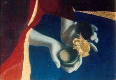 Egg Tempera & Gold Leaf (a student end of year exhibition half life size, at Julian Ashton's Art School , the Rocks, Sydney, Australia. Jewelry Art, Jewellery, Half Life, Lost Wax Casting, Tempera, Sydney Australia, Art School, Gold Leaf, The Rock