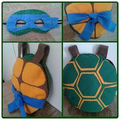 Ateliê Boneca Jeitosa: Santa Tartaruga! Turtle Birthday Parties, Ninja Turtle Birthday, Ninja Turtle Party, Ninja Turtles, Halloween Poems, Baby Halloween Costumes, Cute Halloween, Diy Costumes, Diy Ninja Turtle Costume