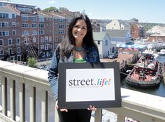 """Salina McIntire: """"Street.life is going to be right in the middle of everything that happens in Portsmouth, which is Pleasant Street, right in Market Square!""""   -Salina McIntire, Director of Marketing at BANK W Holdings."""