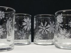Snowflakes are a perfect subject for stand-alone etching with etchall®! The result is so elegant and pretty.