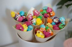 Simple yet great looking way to serve kids party food!
