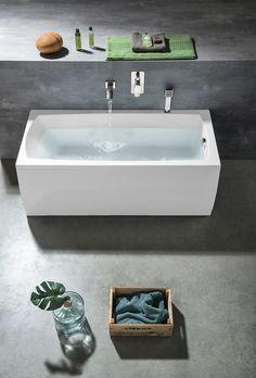 LILY obdélníková vana 150x70x39cm, bílá : SAPHO E-shop Bath Screens, Bathtubs, Sink, Bathroom, Shopping, Home Decor, Bathtub, Bath, Sink Tops